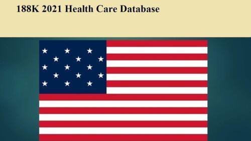 188K USA Healthcare 2021 Email Database Sales Leads list Marketing