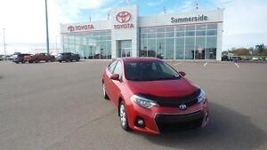 2015 Toyota Corolla SPORT LOW K & LOW PRICE! ONLY $62.48 / WEEK