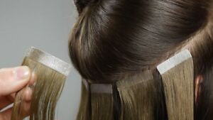 Tape in HAIR EXTENSION 100% human hair