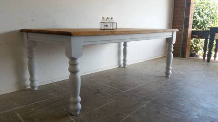 Farmhouse Cottage Dining Room Table | Free Delivery Brisbane