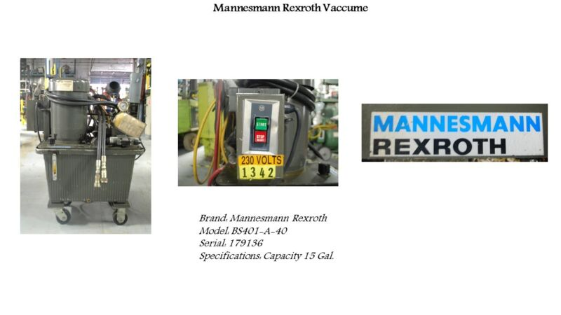 Hydraulic power pack Mannesmann Rexroth