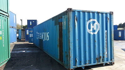 40 Hc Shipping Container Storage Container Conex Box In New York City Ny