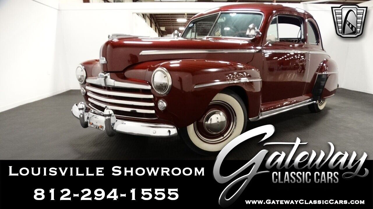 Burgundy 1947 Ford Coupe Coupe 239 Flathead 3 Speed Manual Available Now!