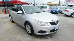 2011 Holden Cruze JH Series II MY11 CD Grey 6 Speed Sports Automatic Sedan St James Victoria Park Area Preview