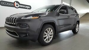 2015 Jeep Cherokee LIMITED, cuir, navigation, hitch