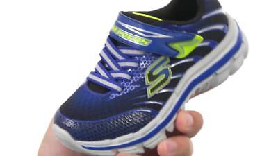 Clearance Sale New Skechers Nitrate - Sneakers Kid's 95346L nvbl Navy Blue US11 ()