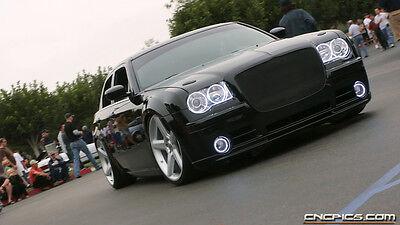 Chrysler 300 White LED HALO FOG LIGHT KIT (2005-2010)