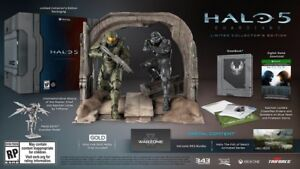 Selling or Trading Halo 5 Guardians Collectors Edition