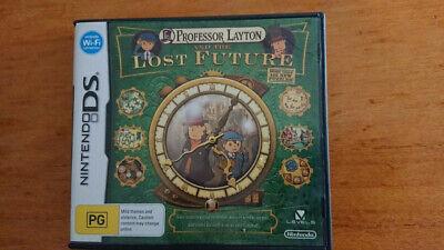 Professor Layton and the Lost Future Nintendo DS