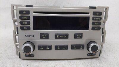 2005-2006 Chevrolet Cobalt Am Fm Cd Player Radio Receiver 54266