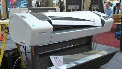 Demo Model Hp Designjet T790ps 44 Inch Plotter Wide Format Printer Color