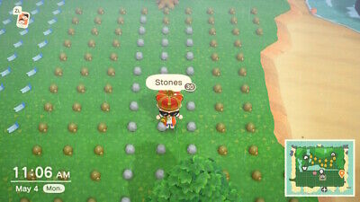 Star Golden Iron Nuggets Clay Stone Rusted Part ANIMAL CROSSING NEW HORIZONS