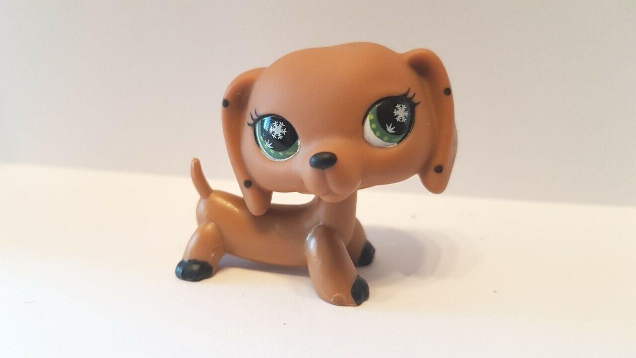 Figurine petshop  original chien dog teckel daschund monopoly  pet shop (4 )