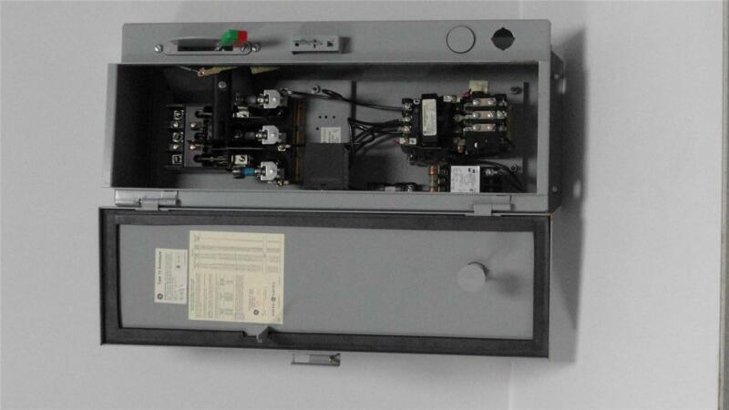 GE 300-Line Control Size 1 Combo Starter  Type 12 Enclosure