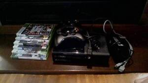 XBox 360 500gb plus 6 games and 2 controllers Woodville Park Charles Sturt Area Preview