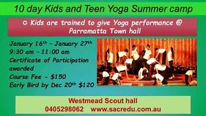10 day Kids and Teens Holiday Yoga camp Westmead Parramatta Area Preview
