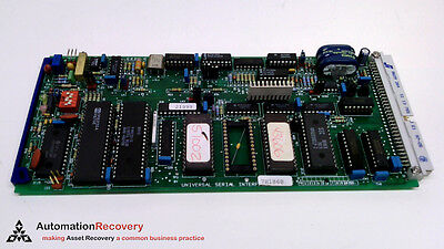 Domino 23139 Universal Serial Interface 7h1868 Circuit Board 217913