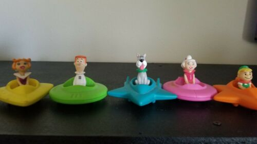 Vintage The Jetsons: Jane, George, Astro, Judy, and Elroy. Wendys 1989