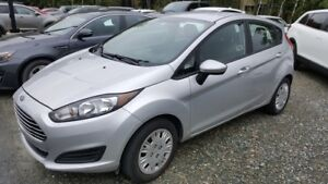 2015 Ford Fiesta S, A/C, bluetooth, hatchback NO DAMAGE REPORT