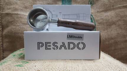 BRAND NEW PESADO DOUBLE GROUP HANDLES TIMBER CHEAP LA MARZOCCO