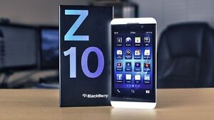 White Blackberry Z10