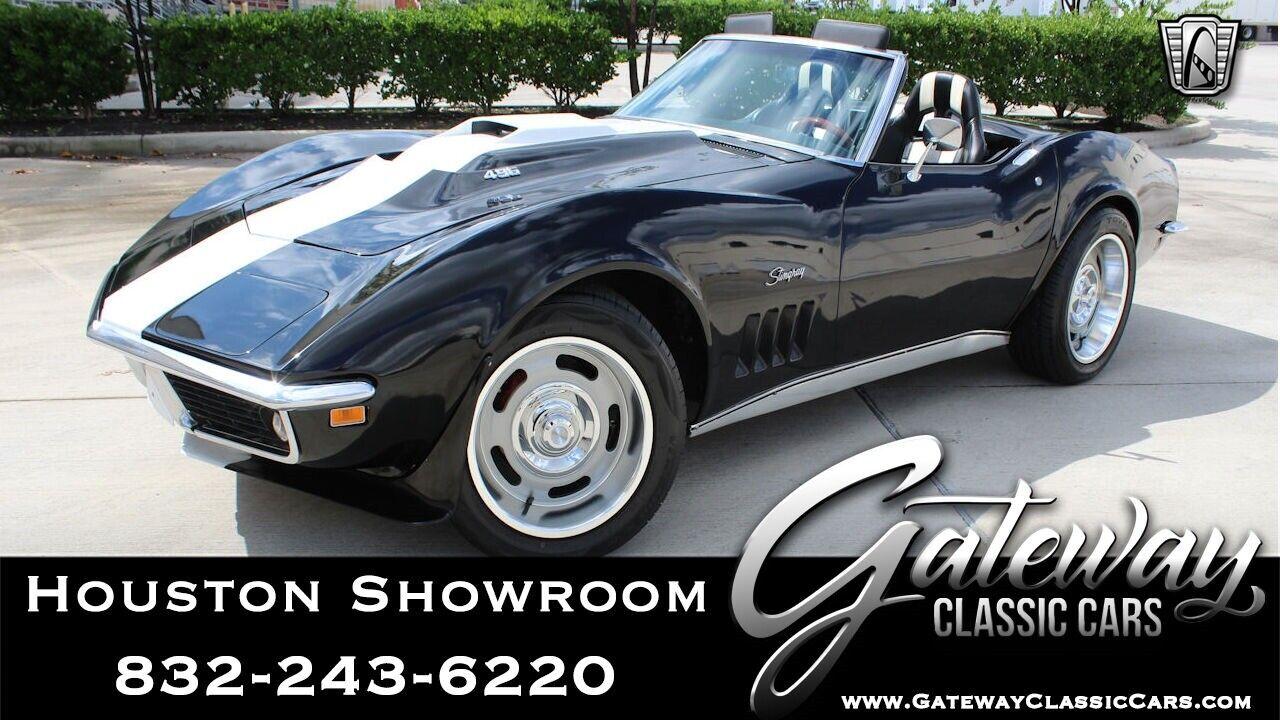 1969 Black Chevrolet Corvette   | C3 Corvette Photo 1