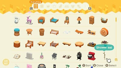 Animal Crossing New Horizons Any Furniture from game Part 4 Pick one out of list