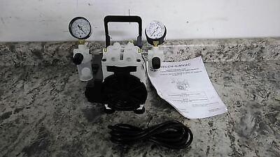 Welch 2546b-01 14 Hp 115vac 27.6 In Hg Max Vacuum Piston Vacuum Pump