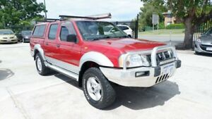 2003 Nissan Navara D22 MY2002 ST-R Red 5 Speed Manual Utility St James Victoria Park Area Preview