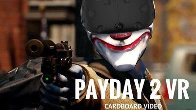 Payday 2 Vr  Steam Pc