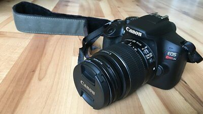 EXCELLENT Canon EOS Rebel T6 DSLR Camera with 18-55mm II Lens (2 LENSES)