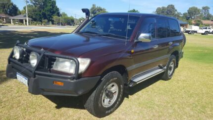 2002 Toyota LandCruiser Turbo Diesel GXL Beckenham Gosnells Area Preview