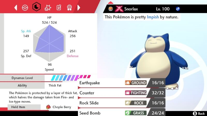 Pokemon Sword and Shield 6iv Shiny Snorlax - FAST DELIVERY!