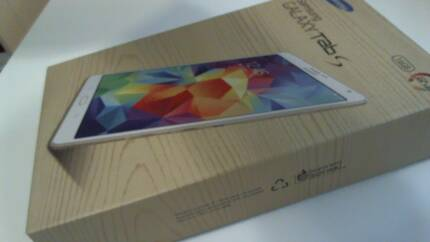 """New Samsung Galaxy Tab S 4G 16GB 8.4"""" White - UNOPENED! Northgate Brisbane North East Preview"""