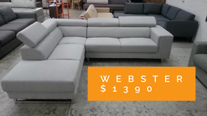 High End Sofa Outlet - Brand NEW- UP TO 85% OFF RETAIL Eumemmerring Casey Area Preview