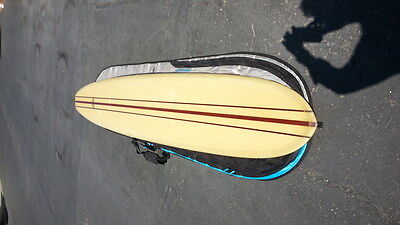 """GREAT EARLY 1960s VINTAGE YATER SURFBOARD in GREAT CONDITION 10' 6"""" very RARE"""