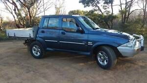 2004 Ssangyong Musso 4x4 ute Hobart CBD Hobart City Preview