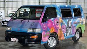2007 Mitsubishi Express SJ M07 Window SWB Blue 5 Speed Manual Van