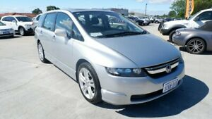 2007 Honda Odyssey 3rd Gen MY07 Luxury Silver 5 Speed Sports Automatic Wagon St James Victoria Park Area Preview