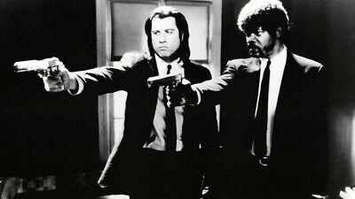 Pulp Fiction Movie Poster Art Photo Print 8x10 11x17 16x20 22x28 24x36 27x40 B