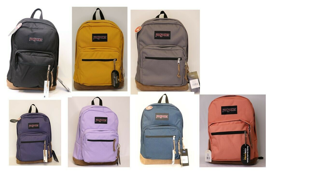 NWT JANSPORT RIGHT PACK BACKPACK ORIGINAL 100% AUTHENTIC SCH