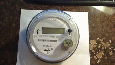 Centron Itron Electric Meter Model Cl200 240v 3w Type C2sldinf New Without Box