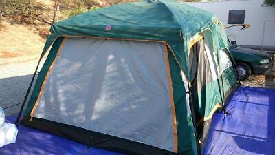 Tenda campeggio 8 posti. Montaggio veloce.