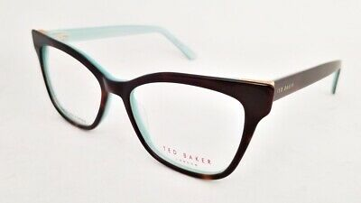 TED BAKER London TW002 eyeglasses Frame Tortoise Mint WOMEN 53mm Cat Eye (Ted Baker Designer Glasses)