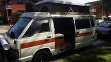 1985 Toyota Hiace AUTO POP UP MOBILE HOME REGO 29/7/16 Punchbowl Launceston Area Preview