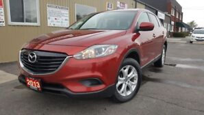 2013 Mazda CX-9 GSL-7 PASS-AWD-LEATHER-SUNROOF-REVERSE CAMERA