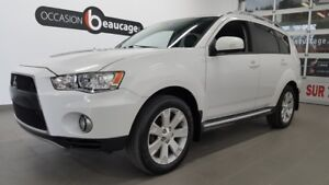 2010 Mitsubishi Outlander XLS AWD, 7 places, cuir toit ouvrant