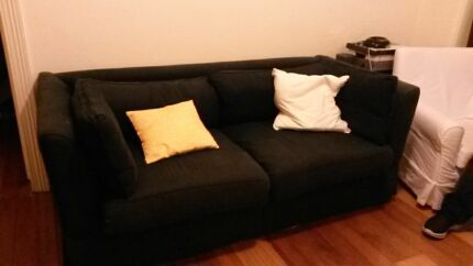Freedom furniture couch. Super comfy. Navy blue.  Stanmore Marrickville Area Preview