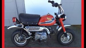 Wanted parts for Honda z50