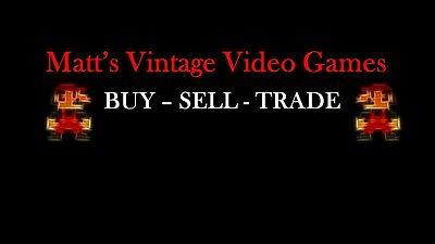 Matt's Vintage Video Games